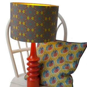 optic flower lampshade( life)