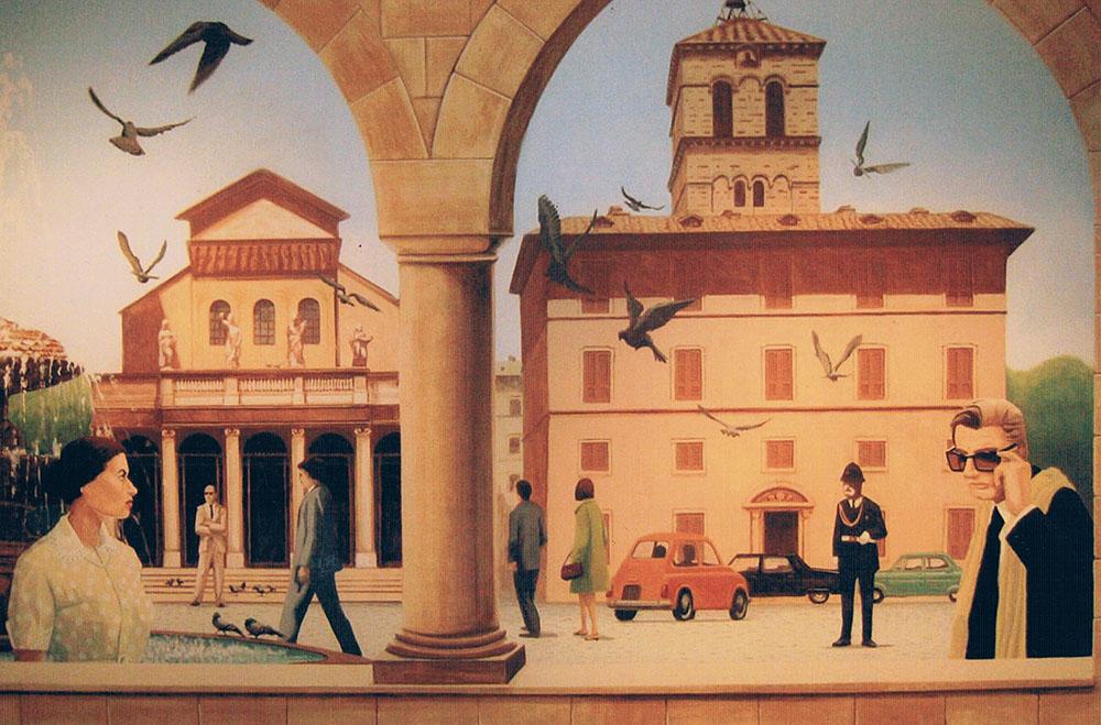 italian mural