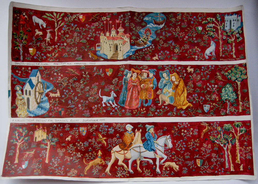 tapestry illustration