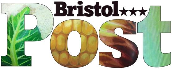 Bristol Post masthead outline