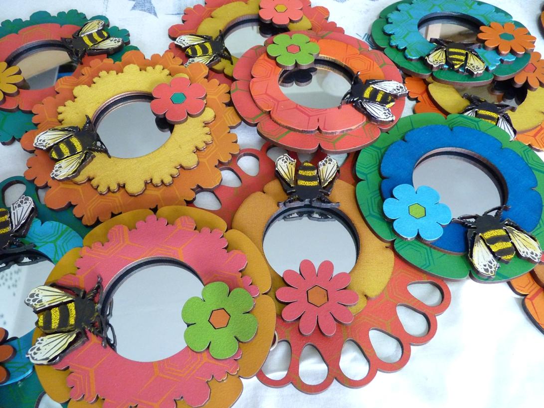 new flowerburst mirrors